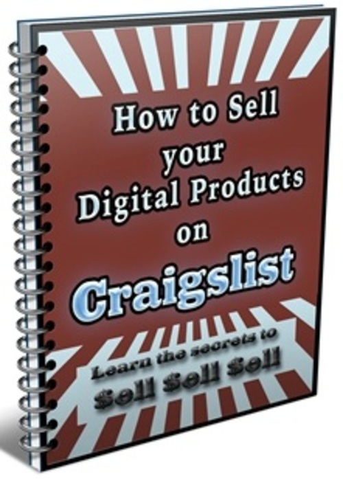 Pay for How To Sell Your Digital Products On Craigslist - eBook with