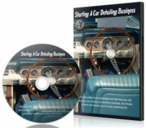 Pay for Starting A Car Detailing Business - eBook with PLR