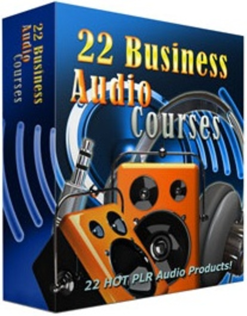 Pay for 22 Business Audio Course - Audios with PLR
