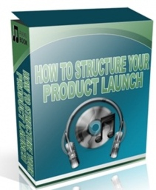 Pay for How to Structure Your Product Launch - Audio with PLR