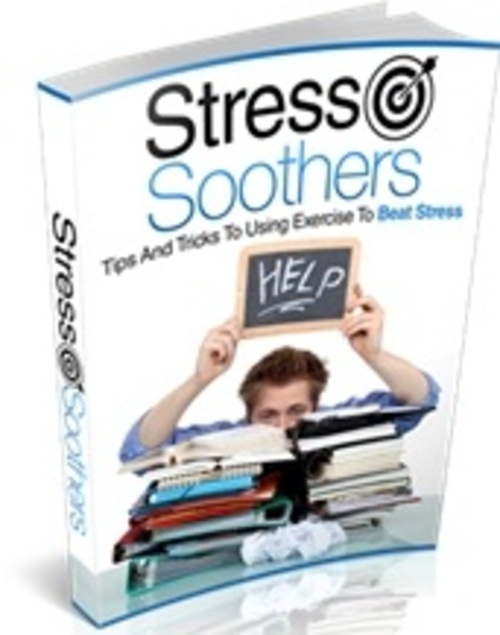 Pay for Stress Soothers - eBook with MRR