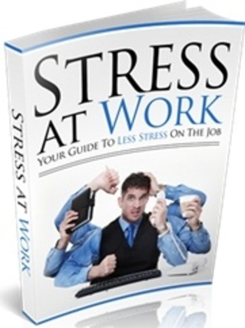 Pay for Stress At Work - eBook with MRR