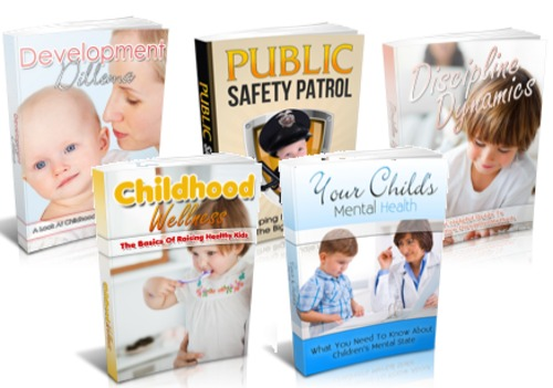 Pay for Family And Parenting Package - 5 eBooks with MRR