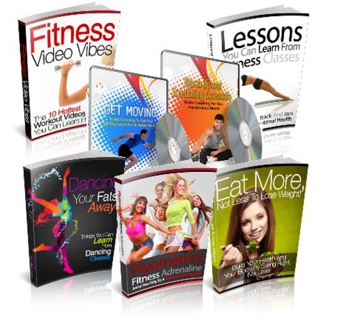 Pay for Health And Fitness Package - 5 eBooks and Bonus with MRR