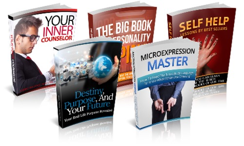 Pay for Personal Awareness Package - 5 eBooks with MRR