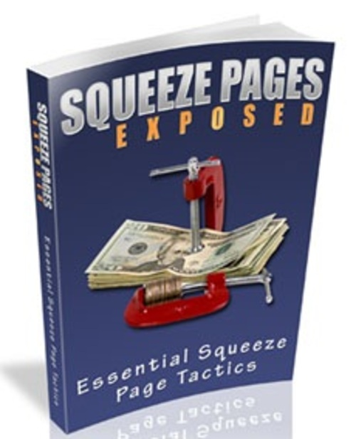 Pay for Squeeze Pages Exposed - eBook with MRR