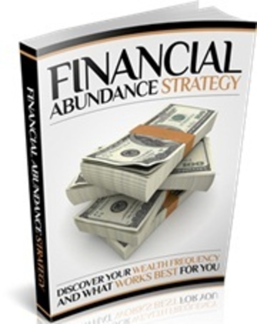Pay for Financial Abundance Strategy - eBook with MRR