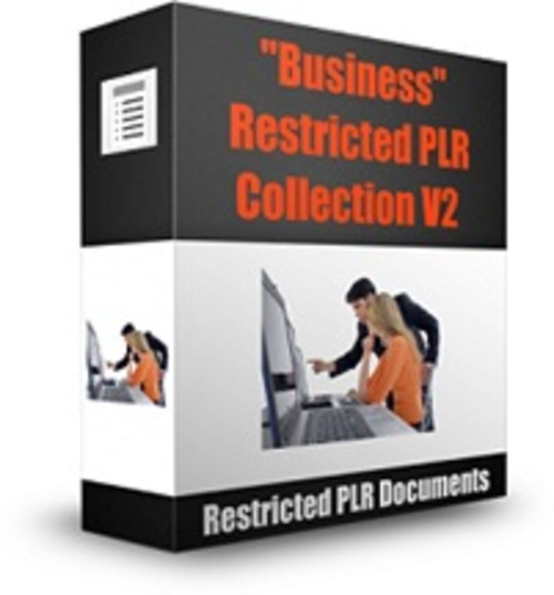 Pay for Business Restricted PLR Collection V2 - Documents with PLR