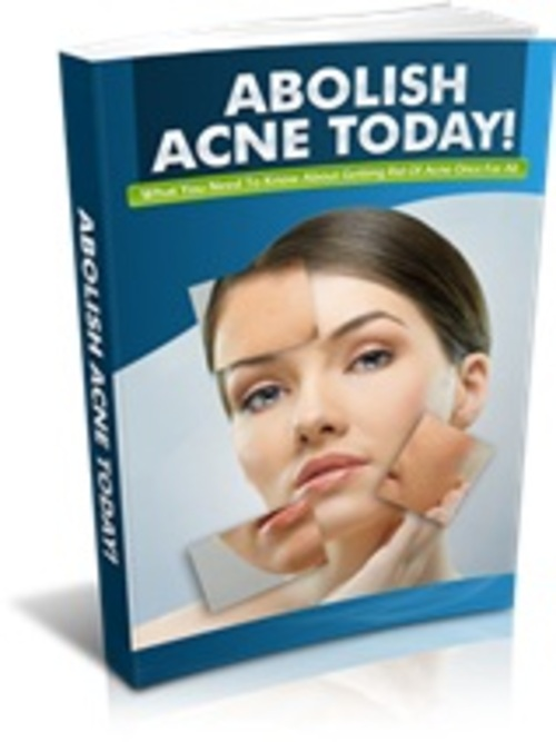 Pay for Abolish Acne - eBook & Report with MRR