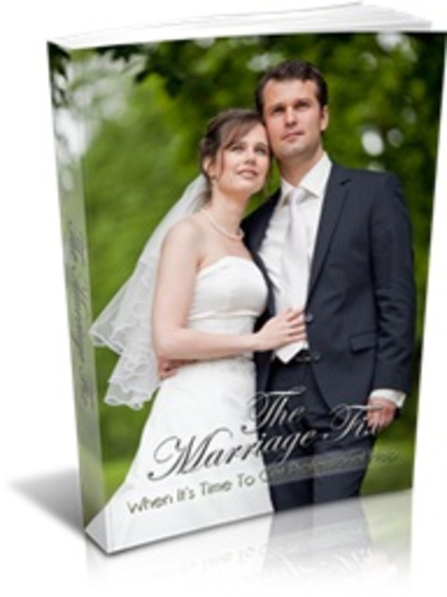 Pay for The Marriage Fix - eBook & Report with MRR