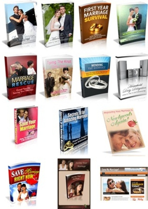Pay for Marriage Package - 8 eBooks & Free Bonuses with MRR License