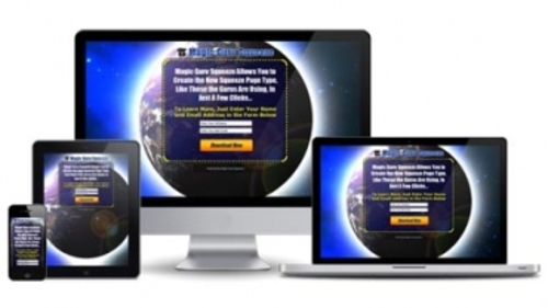 Pay for Magic Guru Squeeze ( Software with MRR License)