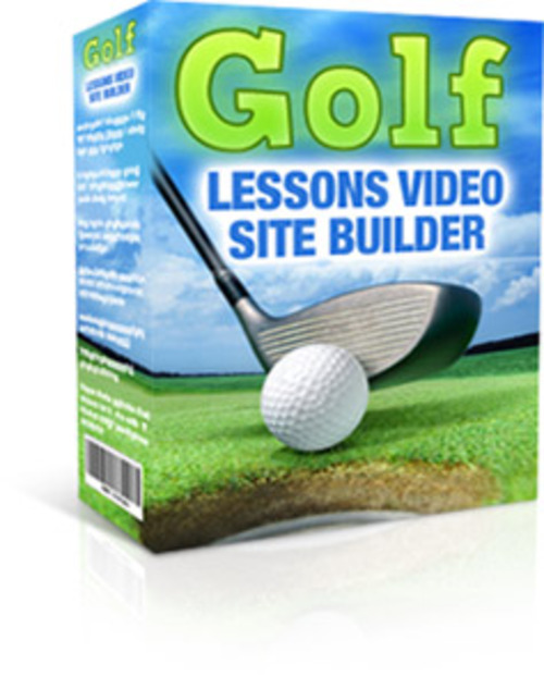 Pay for Golf Lessons Video Site Builder - Software with MRR