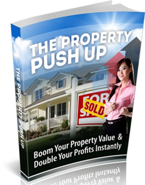 Pay for The Property Push Up - eBook with MRR License