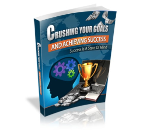 Pay for Crushing Your Goals and Achieving Success - eBook with MRR