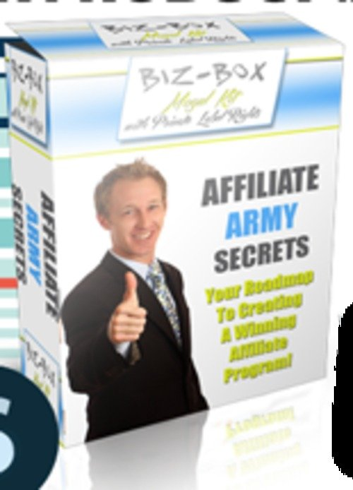 Pay for Affiliate Army Secrets - eBook with RR License