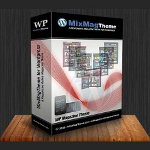 Pay for The MixMag WP Theme - with MRR License