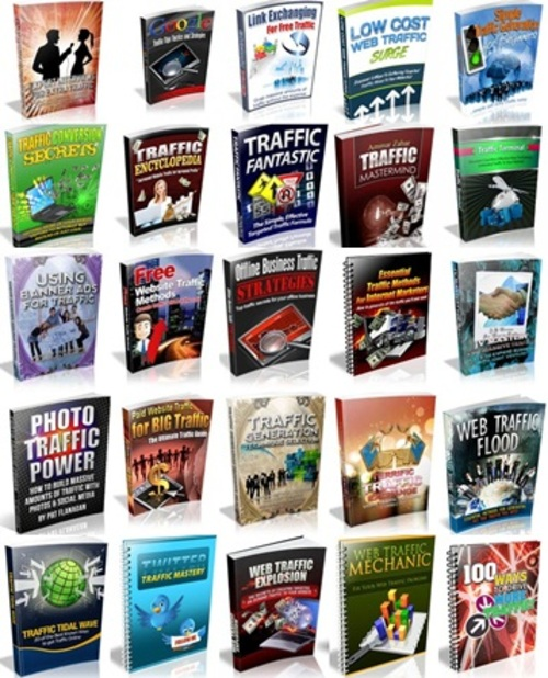 Pay for Website Traffic Niche Pack - 47 eBooks