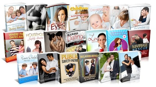 Pay for Wedding and Love Niche Pack - 19 eBooks