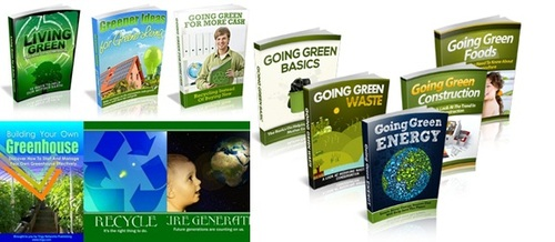 Pay for Going Green Niche Pack - 15 eBooks
