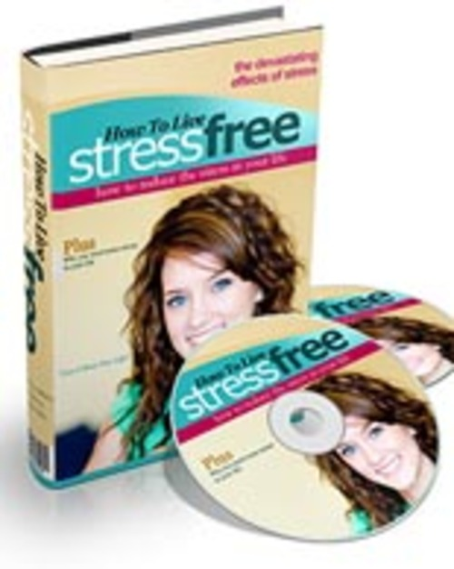 Pay for How To Live Stress Free - Audio eBook with PLR