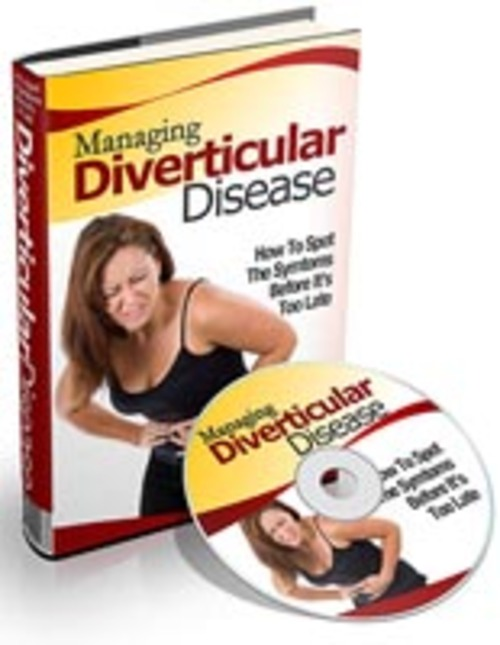 Pay for Managing Diverticular Disease - Audio eBook with PLR