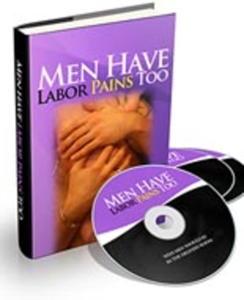 Pay for Men Have Labor Pains Too - Audio eBook with PLR