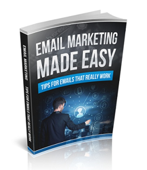 Pay for Email Marketing Made Easy - eBook with MRR