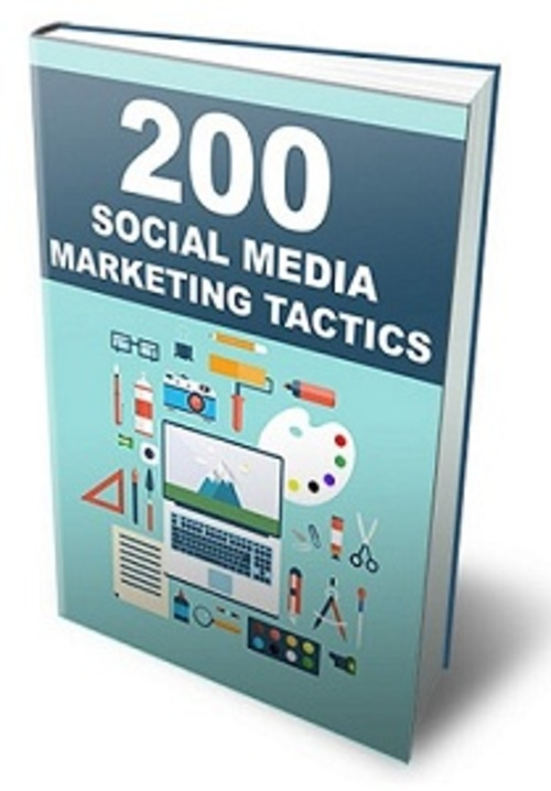 Pay for 200 Social Media Marketing Tactics - eBook with MRR