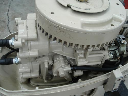 Chrysler three and four cylinders outboard motors workshop for Outboard boat motor repair