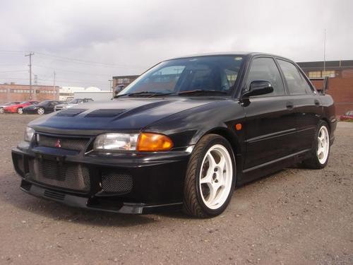 1992 1996 Mitsubishi Lancer Evolution I Evolution Ii border=