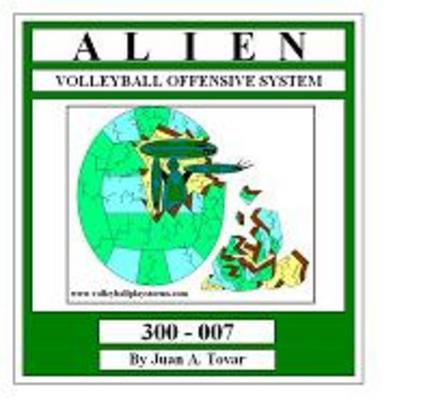 Pay for EB-300-007 ALIEN Volleyball Play Book