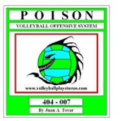 Pay for EB-404-007 POISON Volleyball Play Book