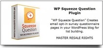 Thumbnail WP Squeeze Question Plugin