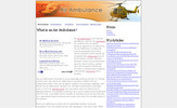Thumbnail Air Ambulance Adsense Content Website