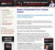 Thumbnail Wallstreet Forex Robot Clickbank Affiliate Website