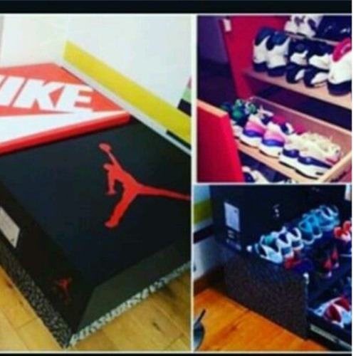 Pay for HOW TO BUILD CUSTOM MADE JORDAN,NIKE,WOOD DRAWER SHOE STORAG