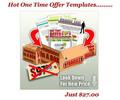 Thumbnail Hot One Time Offer (OTO) Templates (MRR)+Bonuses!