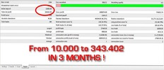 Thumbnail Forex MoneyPro EA with probability 90 percent winning