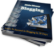 Thumbnail Make Money Blogging + Master Resell Rights License