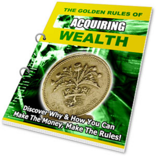 Pay for The Golden Rules of Acquiring Wealth