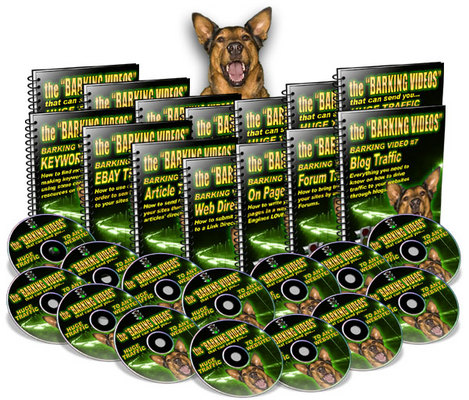 Pay for *The Barking Videos* Web Traffic Video Tutorials/MRR