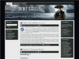 Thumbnail Debt Crisis Niche Site