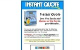 Thumbnail Instant Quote - Add Quotes of The Day To Your Website