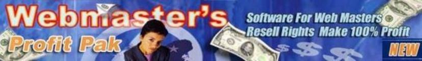 Thumbnail webmasters profit pak mrr
