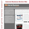 Thumbnail Internet Business Review Site & Internet Business Review Blo