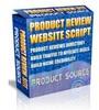 Thumbnail Product Review WebSite Script MRR