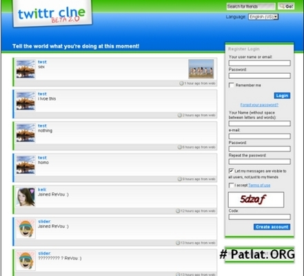 Pay for Twitter  Clone Php Script