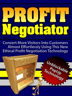 Pay for Lead Capture Tool - Exit Pop Up - ProfitNegotiator