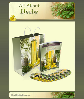 Pay for All About Herbs Mini Site